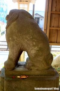 安松神社(所沢市下安松)11