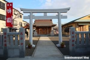 前川神社(江戸川区江戸川)1