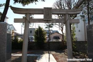 胡録神社(江戸川区江戸川)1