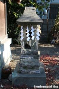 胡録神社(江戸川区江戸川)4