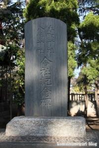 二之江神社(江戸川区江戸川)10