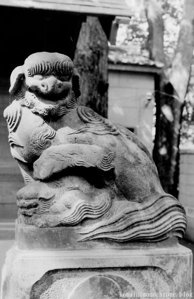 神明氷川神社(中野区弥生町)1