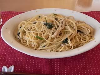 エノキ・青菜スパ1
