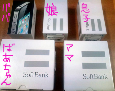 softbankへ