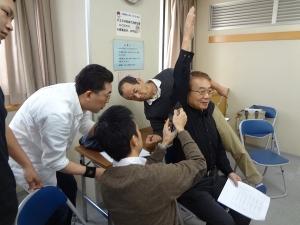関節可動域測定訓練