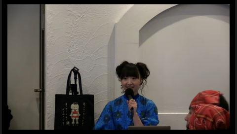『橘田いずみ生誕祭2014~みんなで餃子をつくろうよ~』 30分限定生放送