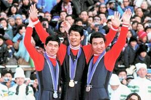札幌オリンピックの日の丸飛行隊