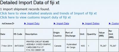 Fiji XT(2014年11月11日)