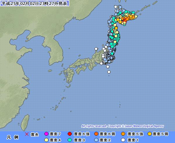 北海道の地震、糸魚川静岡構造線で地震が見事にとまっている件