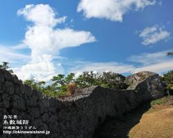 沖縄,壁紙,糸数城跡