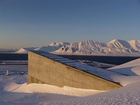 北極の施設