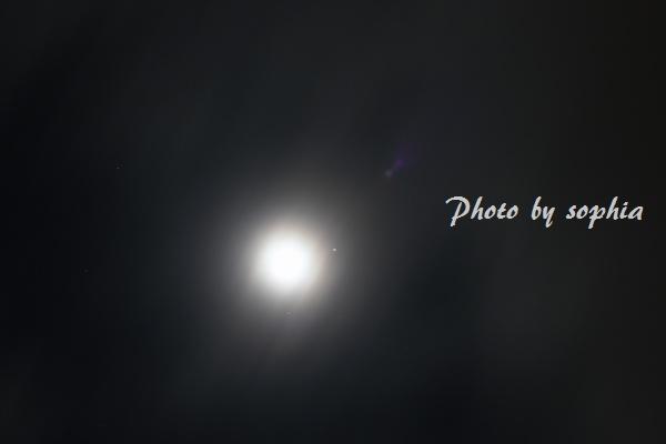 20130122月と金星