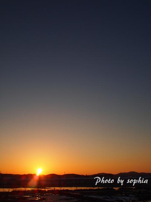 20130131夕日1