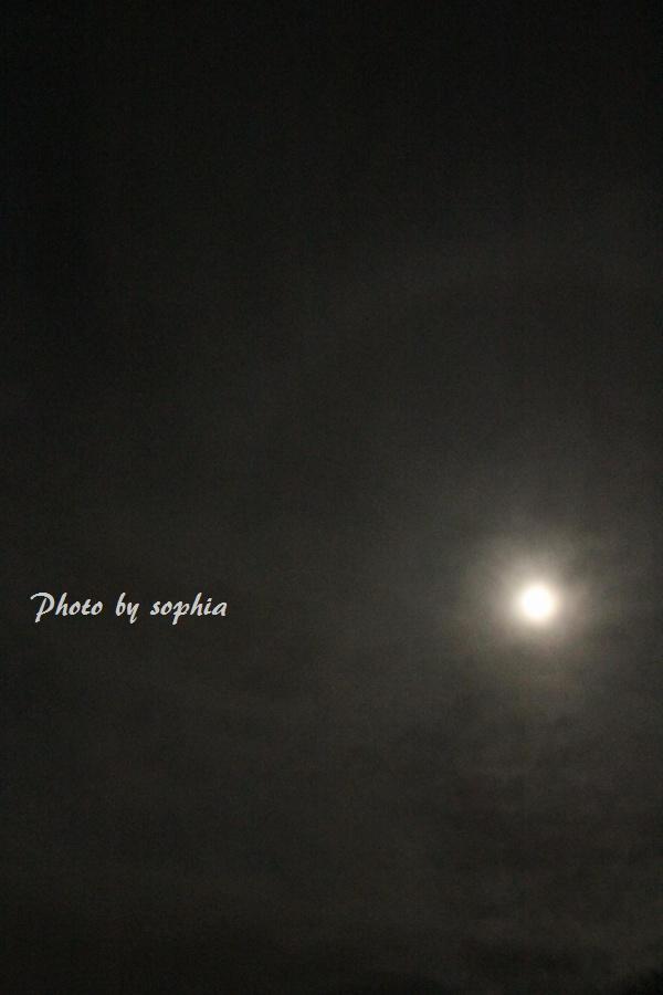 満月とハロー