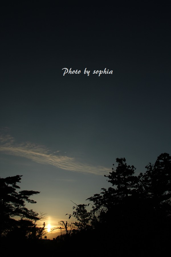 いつかの夕空