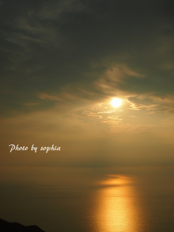 2013年8月20日夕方の海4