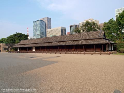 皇居東御苑の百人番所