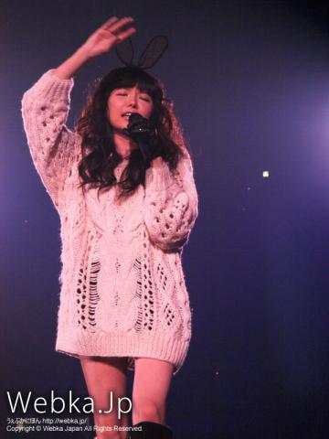 Milky Bunny(益若つばさ)ライブ in GirlsAward2011