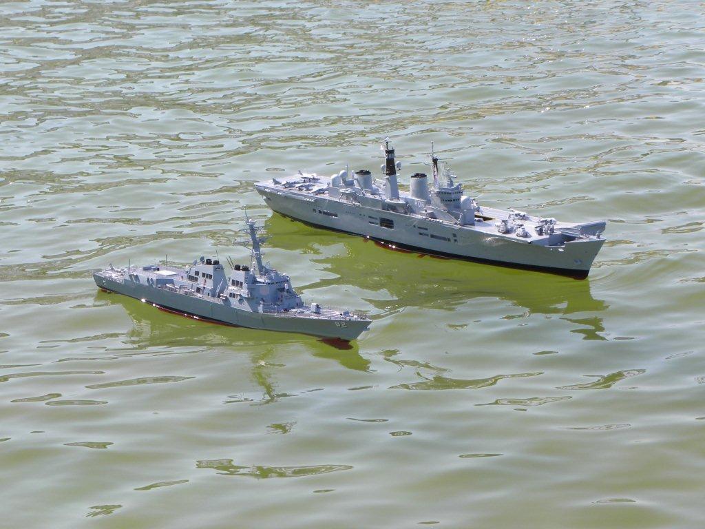 つるぎ海軍工廠日記 1144イージス駆逐艦ラッセン 軽空母イラストリアス