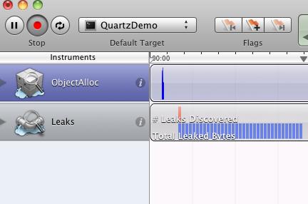 Instruments(Leaks)のキャプチャ