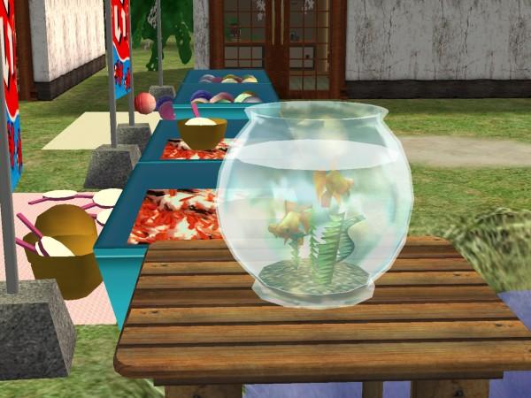 季節もの三種類(Sims2)