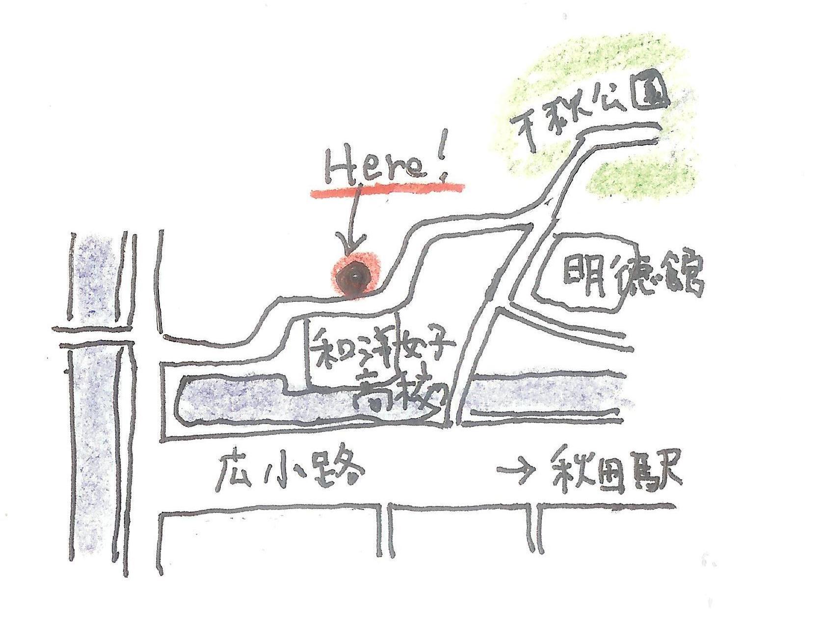 map矢留町