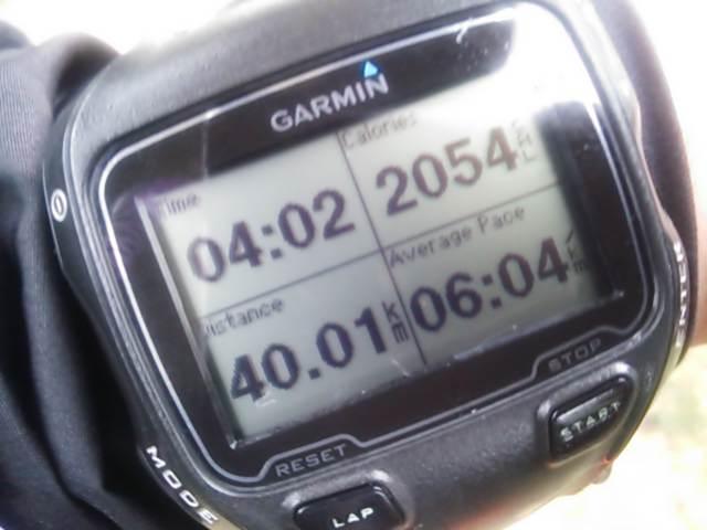 連休初日は泉州試走で40キロ走