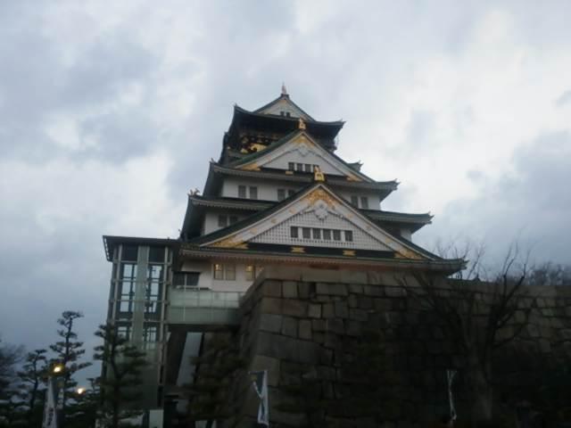 初日の出ランは大阪城へ