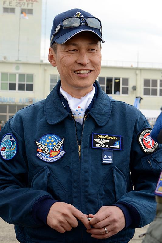 日高次期飛行隊長