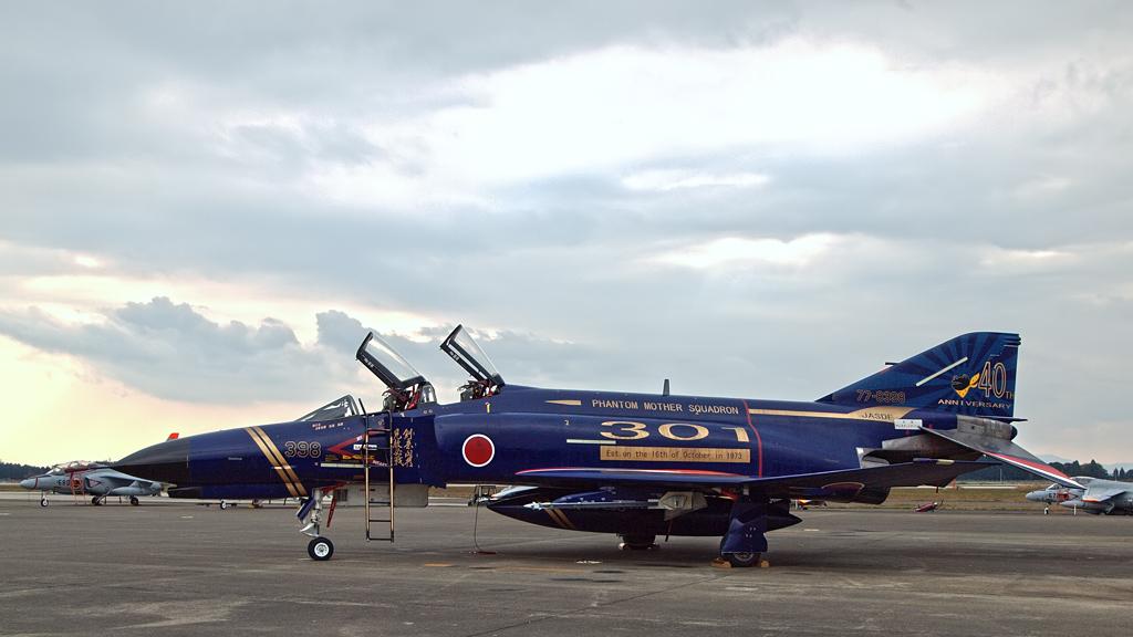 第301飛行隊40周年記念塗装機