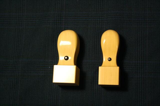手彫り印鑑 角印(印材)