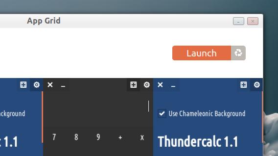 App Grid Ubuntuアプリ インストールの実行