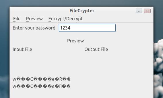 FileCrypter Ubuntu テキスト 復号