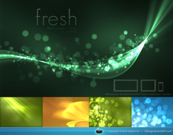 Fresh Wallpaper Pack Ubuntu 壁紙