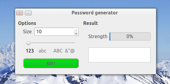 Password Generator Ubuntu パスワード生成