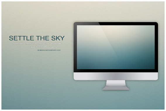Settle The Sky Ubuntu 壁紙