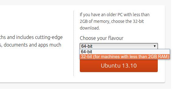 Ubuntu 13.10 ダウンロード