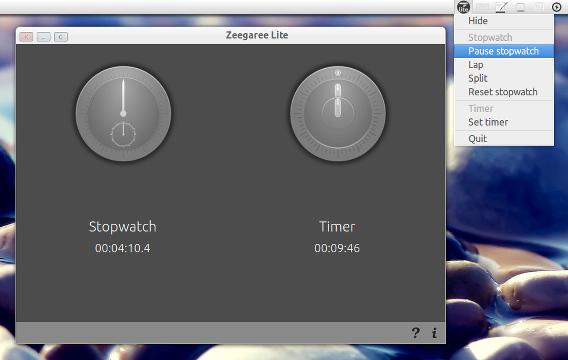 Zeegaree Lite 1.1 Ubuntu ストップウォッチ&タイマー