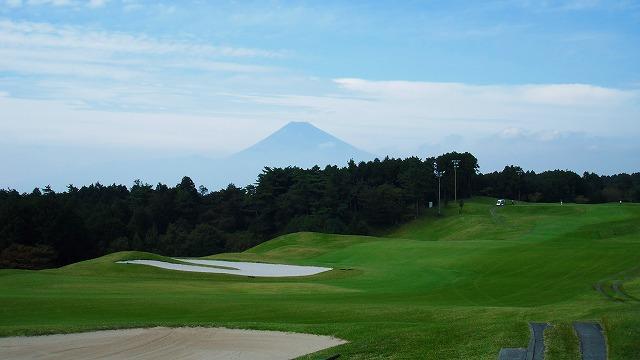 ゴルフ場から見た富士山 1 (2011年~2013年)