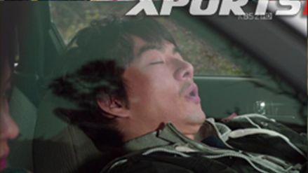 Sppp・・・ フエラムネ口状態で爆睡のバクセであった