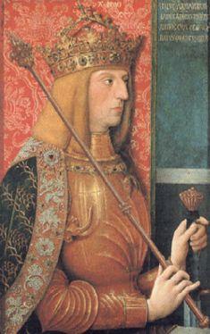 マリーの夫マクシミリアン 神聖ローマ皇帝