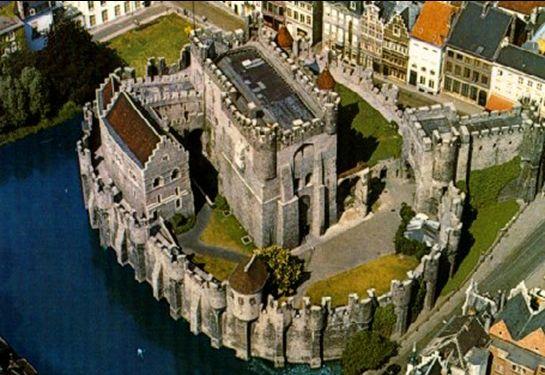 フランドルの城