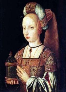 bブルゴーニュのマリー(25才で亡くなったマリーは妊娠していた