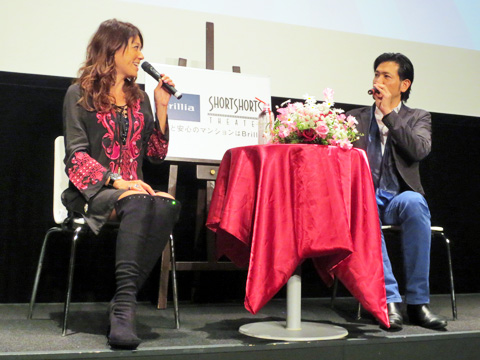 ブリリア ショートショート シアター「LiLiCo×別所哲也 5周年記念バレンタイントークイベント」