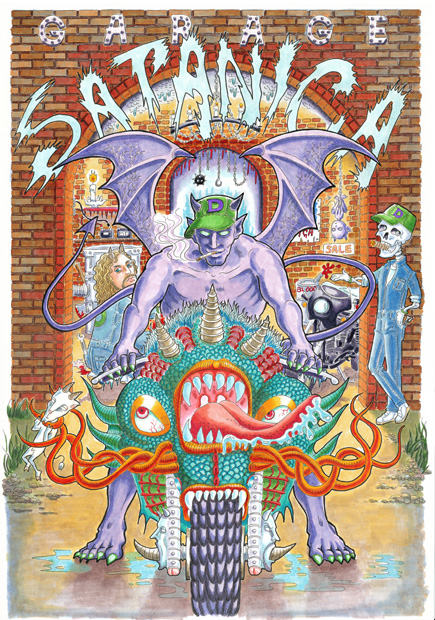 garage satanica blog